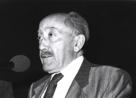 Emilio Alarcos Llorach. Encuentro con José Hierro, 1991