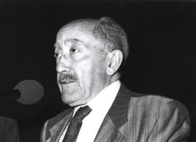 Emilio Alarcos Llorach. Encuentro con José Hierro