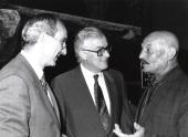 José Luis Yuste Grijalba, Víctor García de la Concha y José Hierro. Encuentro con José Hierro, 1991
