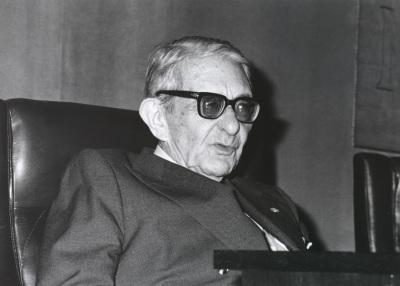 Gonzalo Torrente Ballester. Reunión de la Sociedad Española de Estudios Clásicos