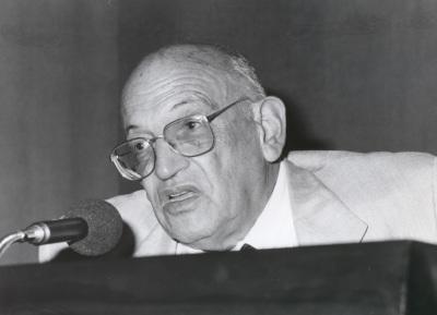 Francisco Rodríguez Adrados. Reunión de la Sociedad Española de Estudios Clásicos