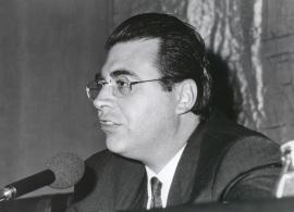 Jaime Siles. Reunión de la Sociedad Española de Estudios Clásicos, 1991