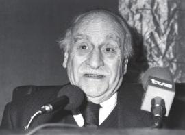 Francisco Ayala. Encuentro con Francisco Ayala, 1992