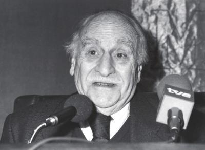 Francisco Ayala. Encuentro con Francisco Ayala