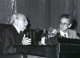 Francisco Ayala y Andrés Amorós Guardiola. Encuentro con Francisco Ayala, 1992