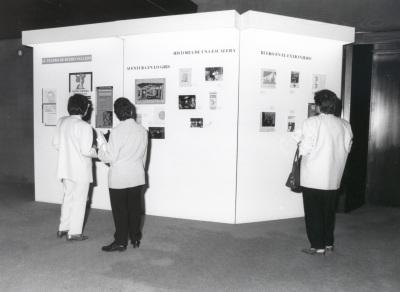 Vista parcial de la exposición El teatro de Buero Vallejo