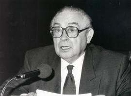 Manuel Alvar. Encuentro con Miguel Delibes, 1992