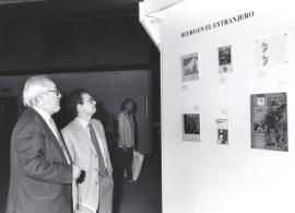 Vista parcial de la exposición El teatro de Buero Vallejo, 2000