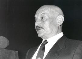 José Hierro. Presentación del libro Encuentro con José Hierro, 1993