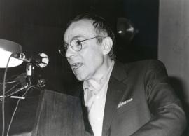 José Luis Gómez. Recordando a Cortázar. Donación de la Biblioteca Julio Cortázar a la Fundación Juan March, 1993