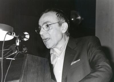 José Luis Gómez. Recordando a Cortázar. Donación de la Biblioteca Julio Cortázar a la Fundación Juan March