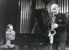 Horacio icasto y Pedro Iturralde. Recordando a Cortázar. Donación de la Biblioteca Julio Cortázar a la Fundación Juan March, 1993