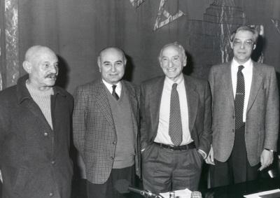 José Hierro, Francisco Brines, Carlos Bousoño y Guillermo Carnero. Encuentros con Carlos Bousoño