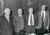 José Hierro, Francisco Brines, Carlos Bousoño y Guillermo Carnero. Encuentros con Carlos Bousoño, 1994