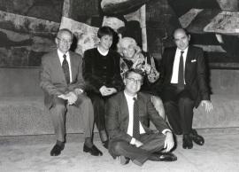 John W. Kronik, Enma Martinell, Carmen Martín Gaite, José Antonio Marina y Francisco Bobillo. Encuentros con Carmen Martín Gaite, 1995