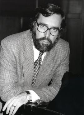Carlos Cruz de Castro. Presentador de los Recitales para Jóvenes, 1996