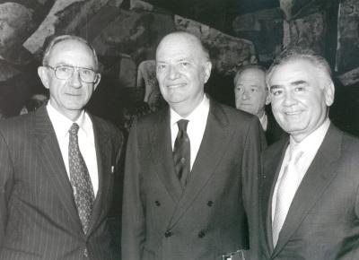 José Luis Yuste Grijalba, Frank Vilardell y Alfredo Lafita. Homenaje al Dr. Frank Vilardell