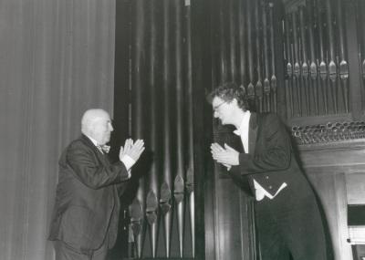 Werner Henze y Jan Philip Schulze. Concierto-Homenaje a Werner Henze