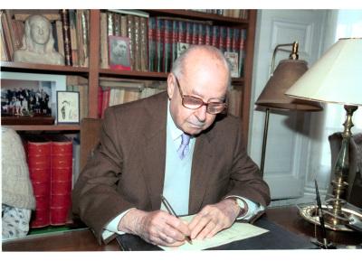 José Luis Turina Garzón. Firma de entrega del Legado Joaquín Turina a la Fundación Juan March