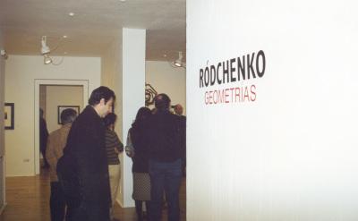 Vista parcial de la exposición Ródchenko: Geometrías