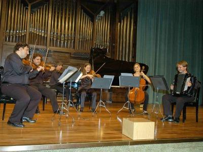 Grupo Modus Novus. Concierto con motivo de la Exposición La destrucción creadora Gustav Klimt, el Friso de Beethoven y la lucha por la libertad del arte
