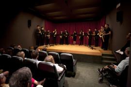 Mallorca Saxofhone Ensemble. Concierto con motivo de la exposición Fotomontaje de entreguerras (1918–1939), 2012