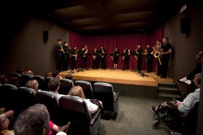 Mallorca Saxofhone Ensemble. Concierto con motivo de la exposición Fotomontaje de entreguerras (1918–1939)