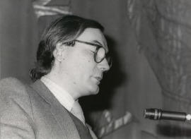 Francisco Calvo Serraller. Conferencia inaugural de la Exposición VII exposición de becarios de artes plásticas, 1982