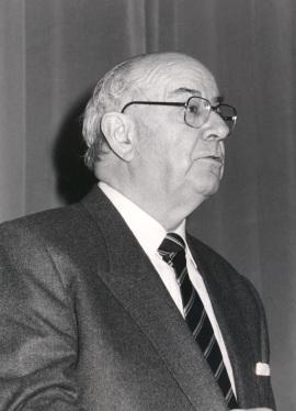 Julián Gállego. Exposición Odilon Redon Colección Ian Woodner, 1990