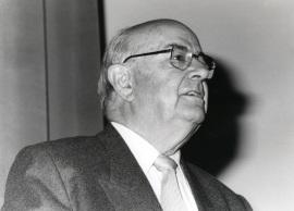 Julián Gállego. Exposición Vieira da Silva, 1991