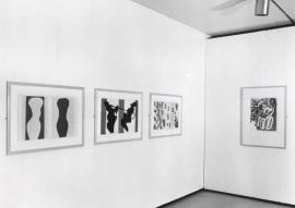 Vista parcial de la exposición Matisse: Espíritu y sentido Obra sobre papel, 2001