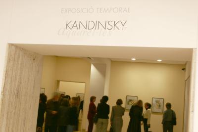 Helmut Friedel. Conferencia inaugural Exposición Kandinsky, acuarelas Städtische Galerie im Lenbachhaus, Munich