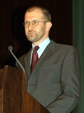 Stephan Koja. Conferencia inaugural de la Exposición La destrucción creadora Gustav Klimt, el Friso de Beethoven y la lucha por la libertad del arte, 2006