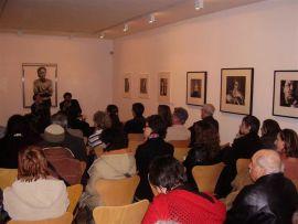 Francisco Caja. Conferencia inaugural de la Exposición Rostros y máscaras Fotografías de la Colección Ordóñez-Falcón, 2006