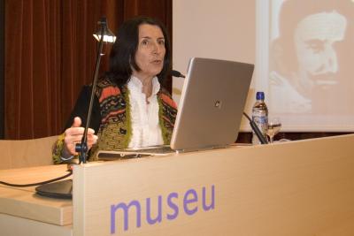 Michèle Dalmace. Conferencia inaugural de la Exposición Equipo Crónica: Crónicas reales
