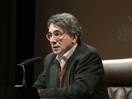 Andrés Trapiello. Conferencia inaugural de la exposición Juan Ramón Jiménez: su vida, su obra su tiempo. La vida hipocondriaca de Juan Ramón Jiménez, 2013