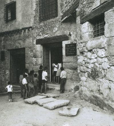 Vista exterior del Museo de Arte Abstracto Español (Cuenca)