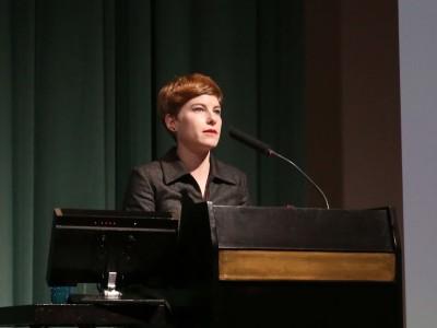 Fabienne Eggelhöffer. Conferencia inaugural de la Exposición Paul Klee: maestro de la Bauhaus