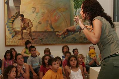 Gabriela Cuccaso en cuentacuentos