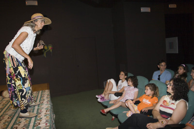 Nati de Grado en cuentacuentos Museu Fundación Juan March (Palma)