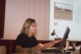 Laura Baigorri en el curso Arte Multimedia.Videoarte. Historia y conceptos clave, 2006