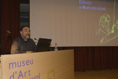 Miguelanxo Prado. Exposición Henry Moore Obra gráfica