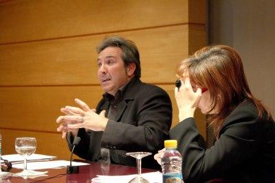 Alberto Ruiz de Samaniego en el curso Arte y Percepción