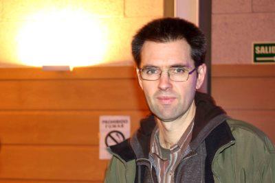 Daniel Canogar en el curso Arte y Percepción.Fantasmagorías contemporáneas