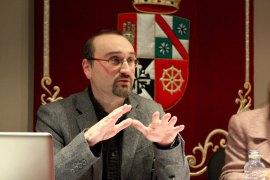 Javier Ariza en el curso Arte y Percepción.Arte y precepción sonora, 2009