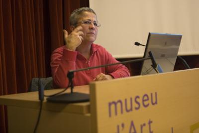Mercè Gambús en el curso El moviemiento: de la representación a la creación