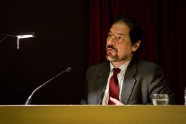Javier Arnaldo en el curso El movimiento:de la representación a la creación, 2009