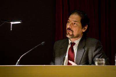Javier Arnaldo en el curso El movimiento:de la representación a la creación