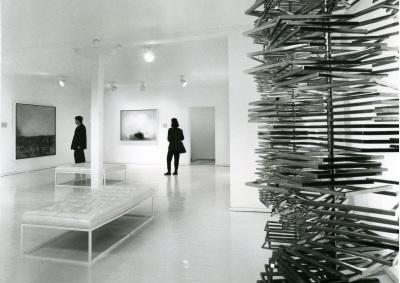 Vista de salas del Museo de Arte Abstracto Español (Cuenca)