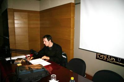 Ignacio Oliva en el curso Cine y mitos en la cultura popular